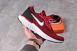 Кросівки чоловічі 16104, Nike Epic React, червоні, [ 43 44 ] р. 44-28,8 див., фото 7