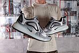 Кроссовки мужские 16124, Nike Air 720, серые [ 44 45 ] р.(44-28,4см), фото 6