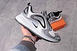 Кросівки чоловічі 16124, Nike Air 720, сірі, [ 44 45 ] р. 44-28,4 див., фото 7