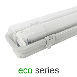 Комплект светильник + 1 LED лампа Т8 1200 мм пыле- влагозащищенный IP65 серия ECO