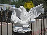 Скульптуры голубей. Скульптура из полимера Голуби 30*41 см, фото 2