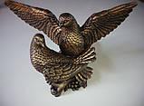 Скульптуры голубей. Скульптура из полимера Голуби 30*41 см, фото 5