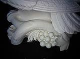Скульптуры голубей. Скульптура из полимера Голуби 30*41 см, фото 7
