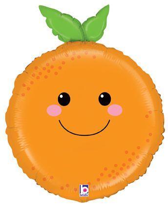 """BT 26"""" Produce Pal Orange. Шар фольгированный  Фрукты - Апельсин"""