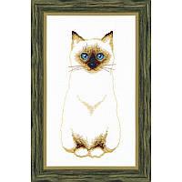 """Набор для вышивания крестом Crystal Art ВТ-109 """"Сиамский кот"""""""