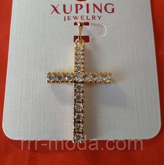 Бижутерия RRR кулоны Xuping оптом. Позолоченные кресты, Бижутерия интернет магазин.