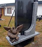 Скульптуры голубей. Скульптура из полимера Голуби 30*41 см, фото 4