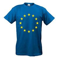 Футболка с символикой Евро Союза