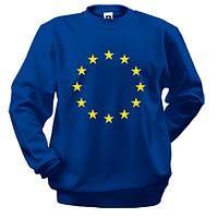 Свитшот с символикой Евро Союза