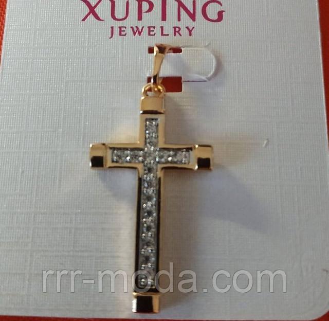Бижутерия RRR кулоны Xuping оптом. Позолоченные кресты, интернет-магазин бижутерии.
