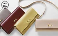 Longchamp представил линию однотипных женских кожаных кошельков Onore 404.