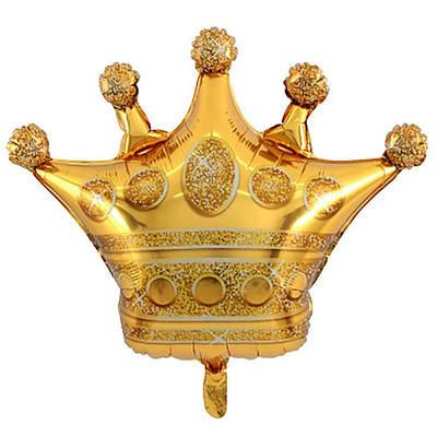 """Q 41"""" Golden Crown. Шар воздушный фольгированный Золотая корона. В УП"""