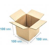 Коробка картонная (100 х 100 х 100) , бурая
