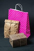 Бумажные подарочные пакеты 260 мм *150 мм *350 мм
