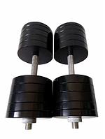 Гантелі розбірні по 48 кг (сталь) з порошковим фарбуванням