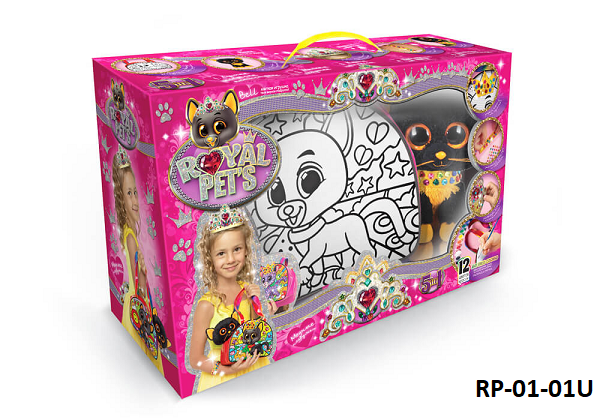 "Набор для творчества ""ROYAL PET'S"" сумочка с игрушкой RP-01-01"