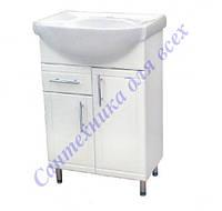 Тумба для ванной комнаты Стандарт Т3/4 с умывальником Эпика-60