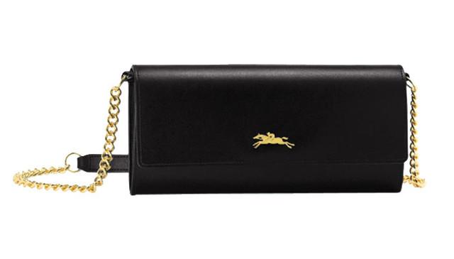 Женский кошелек Longchamp Onore 404 черный