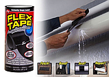 Прочная, прорезиненная, водонепроницаемая лента Flex Tape 30х150 см, фото 2