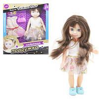 """Кукла """"Лучшая подружка"""" розовый цветочный принт  PL519-1001 (TC147260)"""