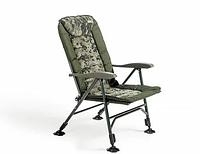 Кресло карповое Mivardi усилиное CamoCODE Quattro нагрузка 160кг, фото 1