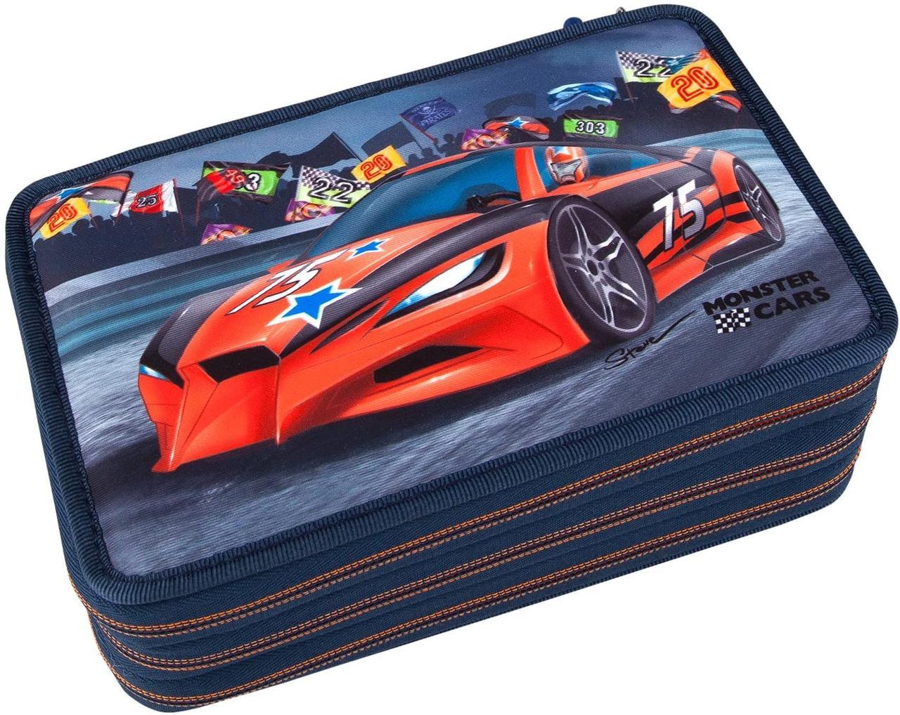 Monster Cars пенал з наповненням від TOP Model  ( Пенал с наполнением от ТОП Модел для мальчика 8218_A)