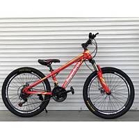 Подростковый горный велосипед 24 дюйма 14 рама Superbros Топ Райдер