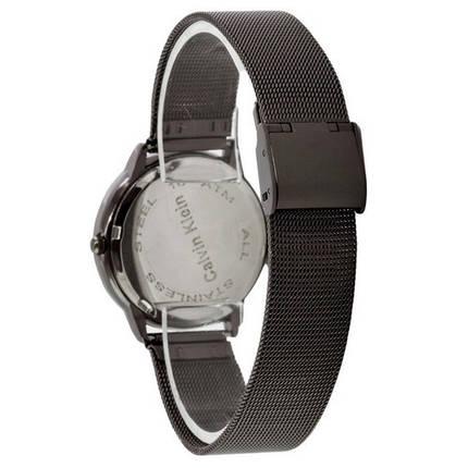 Часы Женские Кельвин Кляйн Ca***n Kl**n Black-Cuprum  Браслет , золотисто-черные, фото 2