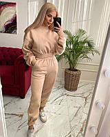 Женский теплый спортивный костюм на флисе  новинка 2020, фото 1