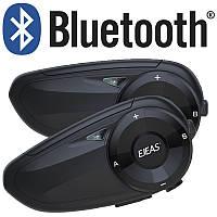 Мотогарнитура Bluetooth EJEAS Q7 рації для шолома, інтерком 2 шт., фото 1