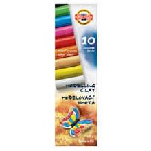 """Пластилин """"Мотылек"""", 10 цветов, 200 г. Картонная упаковка с пластиковым поддоном."""