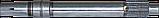 Вал  главного сцепления 17К-2103-3 СК-5,НИВА, фото 3
