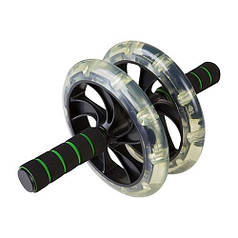 Ролик преса D200mm чорний, 2 колеса