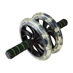 Ролик пресса D200mm черный, 2 колеса