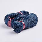 Шнур Вощеный Хлопковый, Цвет: Темно-синий, Размер: Толщина 1мм, около 80м/связка, фото 2