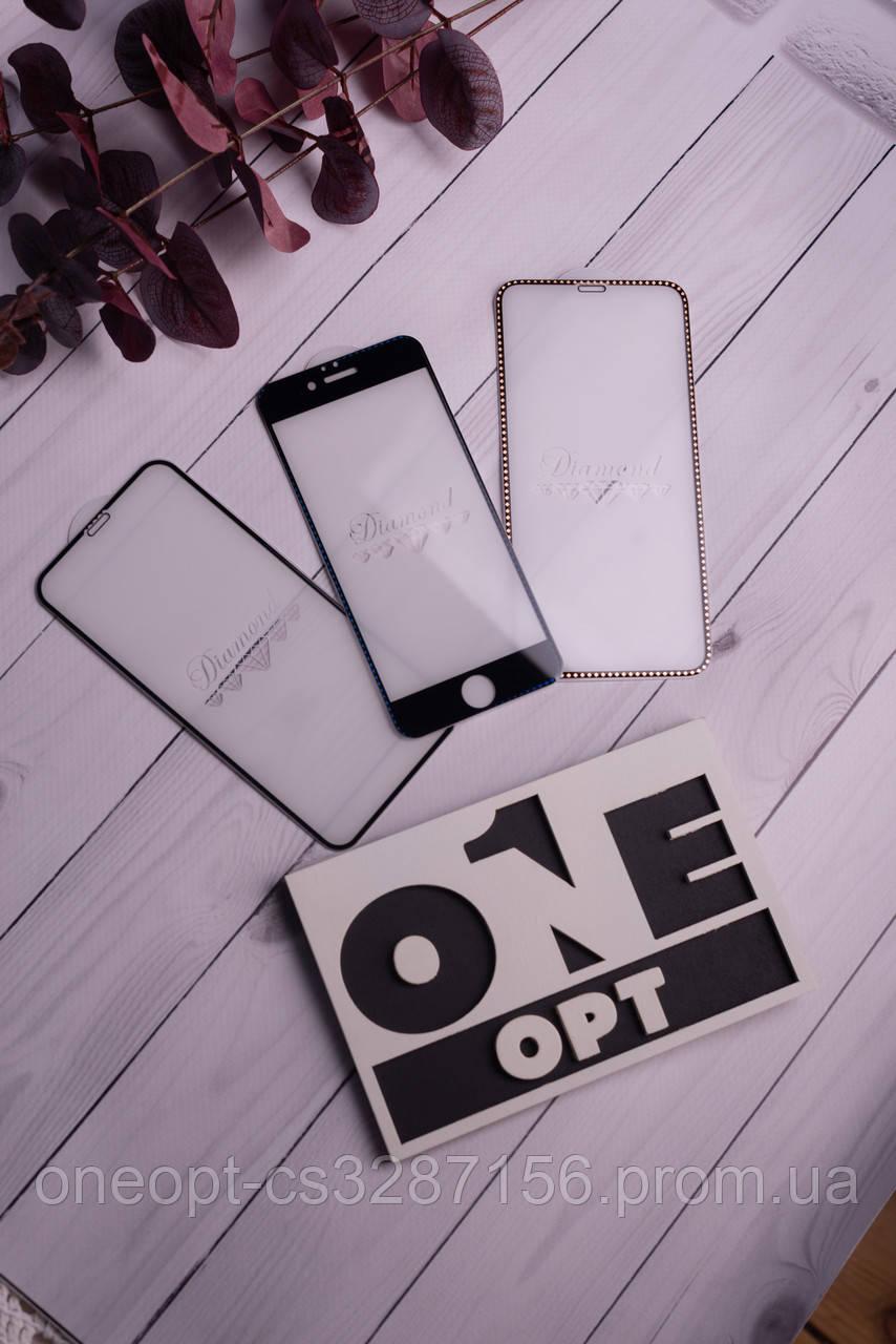 Защитное стекло для iPhone 7/8 Blue