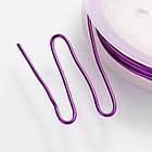 Медная Проволока 1мм/2м, Цвет: Пурпурный, Толщина 1 мм, около 2м/катушка/ Упак.: 1 шт, фото 3