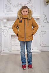 Курточка для хлопчика з щільної водовідштовхувальної тканини Класик Різні кольори