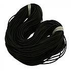 Шнур Резиновый Синтетический полый, Цвет: Черный, Размер: Толщина 4мм, Отверстие 1.5мм/ Упак.: 5 м, фото 3