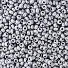 Бисер 16742 Чешский Preciosa 10/0, Алебастр Цветной DA, Серый, Круглый/ Упак.: 50 г, фото 2