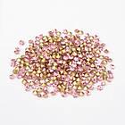 Стразы Бриллиант Стекло Класс А, Покрытые сзади, Цвет: Светло-розовый, Размер: 1.9~2мм/ Упак.: 360 шт, фото 2
