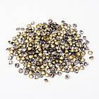 Стразы Бриллиант Стекло Класс А, Покрытые сзади, Цвет: Черный Бриллиант, Размер: 1.9~2мм/ Упак.: 720 шт, фото 2