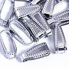 Держатели для Подвесок, Латунь, Цвет: Платина, Размер: 10х3.5мм/ Упак.: 30 шт, фото 2