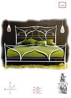 Кованые кровати для сна