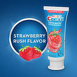 Детская зубная паста Crest Kid's Anticavity Cavity Protection Fluoride Toothpaste Strawberry Rush 119гр, фото 3