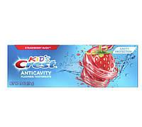 Детская зубная паста Crest Kid's Anticavity Cavity Protection Fluoride Toothpaste Strawberry Rush 119гр