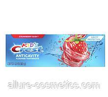 Дитяча зубна паста Crest kid's Anticavity Cavity Protection Fluoride Toothpaste Strawberry Rush 119гр