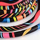 Шнур Искусственная Кожа, Цвет: Разноцветный, Размер: Диаметр 6мм/ Упак.: 1 м, фото 2