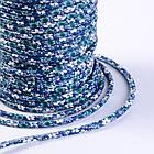 Шнур Искусственная Кожа, Цвет: Синий, Размер: Диаметр 6мм/ Упак.: 1 м, фото 2