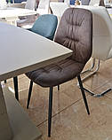 М'який стілець M-17 табако Vetro Mebel, фото 9